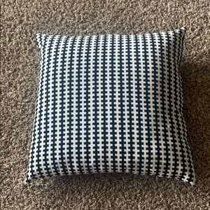 Black and white pillow from ikea